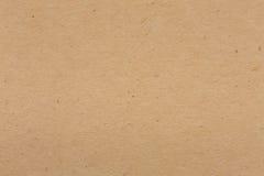Fondo beige del cartone della carta da imballaggio Fotografia Stock
