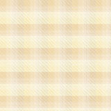 Fondo beige del plaid di tartan Fotografie Stock