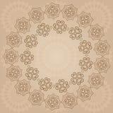 Fondo beige ornamentale Royalty Illustrazione gratis