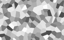 Fondo bianco astratto di struttura di mosaico illustrazione vettoriale