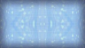 Fondo bianco blu delle mattonelle illustrazione vettoriale
