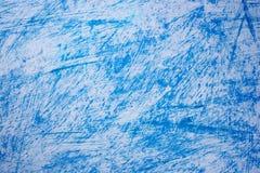 Fondo bianco con i graffi blu royalty illustrazione gratis