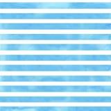 Fondo bianco con le bande blu Fotografia Stock Libera da Diritti