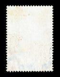 Fondo in bianco del francobollo Fotografie Stock