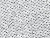 Fondo bianco dell'asciugamano Fotografie Stock Libere da Diritti