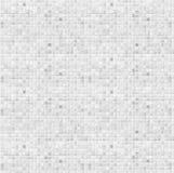 Fondo bianco della parete del bagno della piastrella di ceramica Immagini Stock