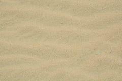Fondo bianco della sabbia del deserto Fotografie Stock