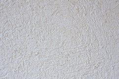 Fondo bianco dello stucco Fotografia Stock Libera da Diritti