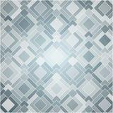 Fondo bianco di sforzo astratto con i quadrati ed i rettangoli Fotografia Stock Libera da Diritti