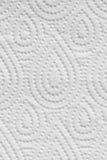 Fondo bianco di struttura della carta del tovagliolo Fotografie Stock Libere da Diritti