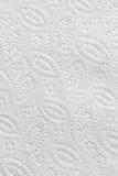 Fondo bianco di struttura della carta del tovagliolo Immagine Stock