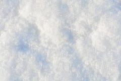 Fondo bianco di struttura della neve Immagini Stock