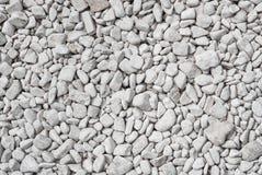 Fondo bianco di struttura delle pietre Fotografie Stock