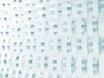 Fondo bianco e blu astratto 3d Fotografie Stock Libere da Diritti