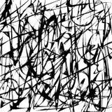Fondo in bianco e nero astratto Immagini Stock