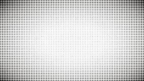 Fondo in bianco e nero astratto dei punti Schiocco comico Art Style Effetto della luce Fondo di pendenza con i punti Immagini Stock