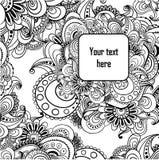 Fondo in bianco e nero astratto di vettore. Royalty Illustrazione gratis