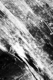 Fondo in bianco e nero dei colpi del pennello illustrazione vettoriale