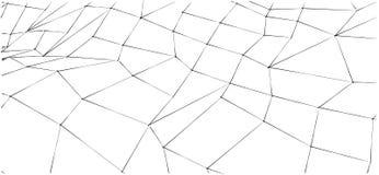 Fondo in bianco e nero del profilo impreciso astratto per progettazione del sito Web, dell'insegna o dell'opuscolo Fotografia Stock