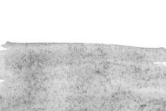 Fondo in bianco e nero dell'acquerello dipinto estratto immagini stock libere da diritti