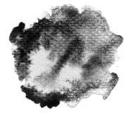 Fondo in bianco e nero di colore di acqua Fotografie Stock Libere da Diritti