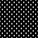 Fondo bianco e nero geometrico diagonale floreale senza cuciture decorativo del modello Complicato, materiale illustrazione vettoriale