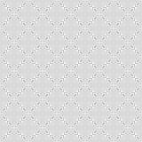 Fondo bianco e nero leggero geometrico decorativo senza cuciture astratto del modello fotografia stock