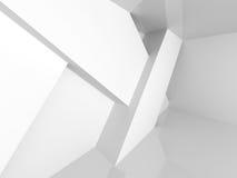 Fondo bianco interno della stanza vuota Fotografia Stock Libera da Diritti