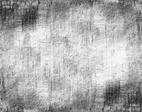 Fondo bianco nero di lerciume Fotografia Stock Libera da Diritti