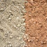Fondo bicolor del suelo Imagen de archivo