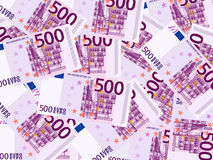 Fondo del euro quinientos Imagenes de archivo