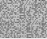 Fondo binario Imagen de archivo