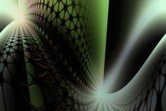 Fondo biológico abstracto ilustración del vector