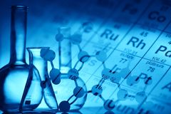 Fondo biológico y de la ciencia Imagen de archivo
