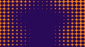 Fondo bitonale astratto del purle ed arancio Struttura di semitono Struttura blu e porpora di pendenza d'avanguardia royalty illustrazione gratis