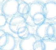 Fondo blanco abstracto Fondo de la tecnología Imágenes de archivo libres de regalías