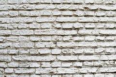Fondo blanco agradable de los ladrillos Fotografía de archivo