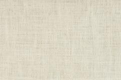 Fondo blanco de la arpillera foto de archivo