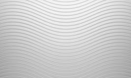 Fondo blanco de la curva Imágenes de archivo libres de regalías