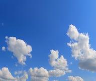 Fondo blanco de la nube foto de archivo