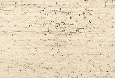 Fondo blanco de la pared de ladrillo Fotografía de archivo libre de regalías