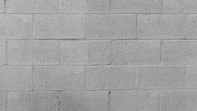 Fondo blanco de la pared de ladrillo Fotos de archivo libres de regalías