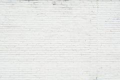 Fondo blanco de la pared de ladrillo del grunge fotos de archivo