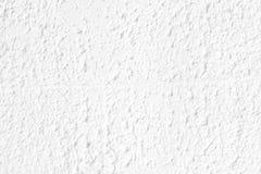 Fondo blanco de la pared del estuco Fotografía de archivo libre de regalías