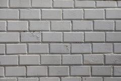Fondo blanco de la pared Textura horizontal de la pared de ladrillo sucia vieja Contexto de Brickwall Papel pintado de Stonewall  imagen de archivo libre de regalías