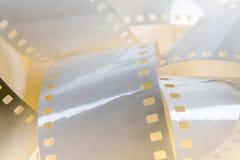 Fondo blanco de la película Foto de archivo libre de regalías