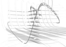 Fondo blanco de la red ilustración del vector