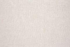 Fondo blanco de la textura de la tela del color crema Imagen de archivo libre de regalías