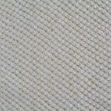 Fondo blanco de la textura de las lanas que hace punto Imagenes de archivo