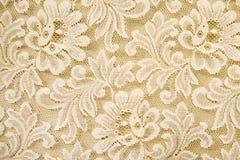 Fondo blanco de la textura del cordón Fotos de archivo